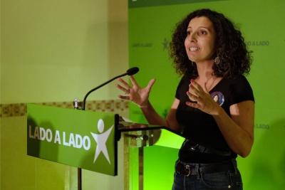 Helga Viegas - voz de Olhão nas listas para as Europeias